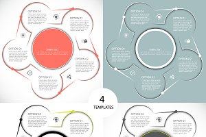 Four templates for presentation