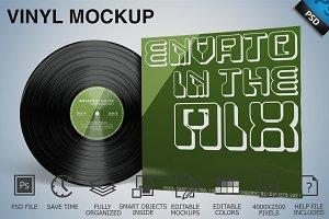 Vinyl Mockup 03
