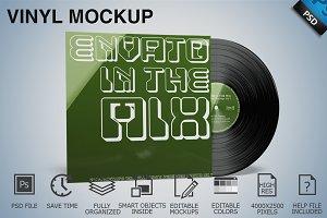 Vinyl Mockup 04