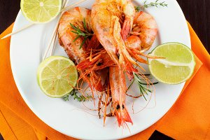 Roasted Shrimps