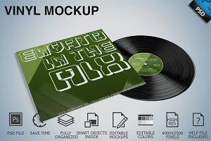 Vinyl Mockup 05