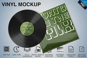Vinyl Mockup 06