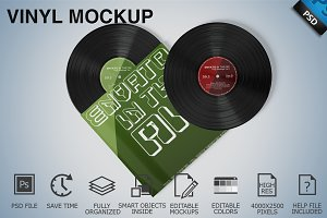 Vinyl Mockup 07