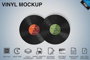 Vinyl Mockup 08