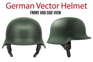 Military German helmet infantry WWII