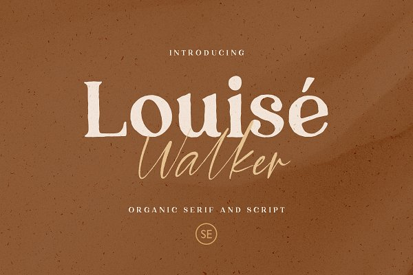 Louise Walker - FONT DUO