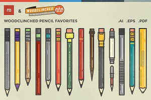 Woodclinched Pencil Collection