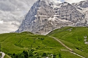 Up to the Eiger