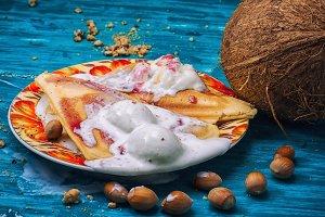 coconut dessert