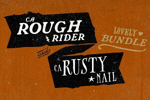 CA Rusty Nail + CA Rough Rider Set