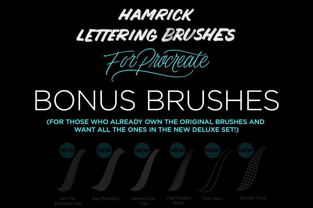 Lettering Procreate Bonus Brushes