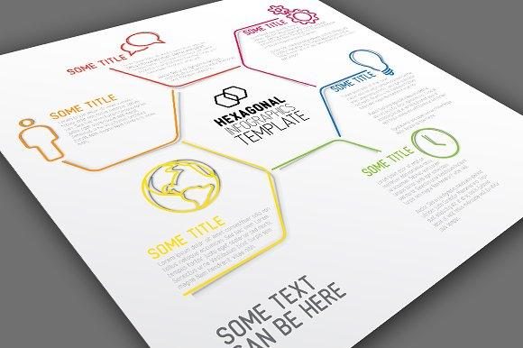 Infographic Template - Hexagon - Presentations