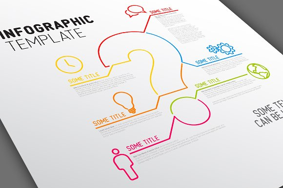 infographic template question mark presentation templates