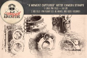 A Moment Captured Camera Stamps