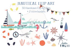 Nautical (Clip Art)