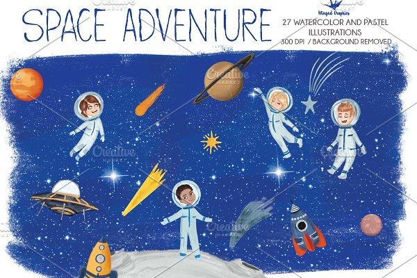 Kid's Space Adventure 27 items
