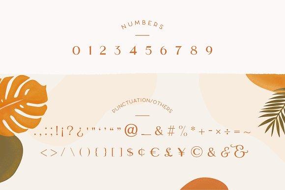 Rosie Sans - Gorgeous Typeface in Sans-Serif Fonts - product preview 3