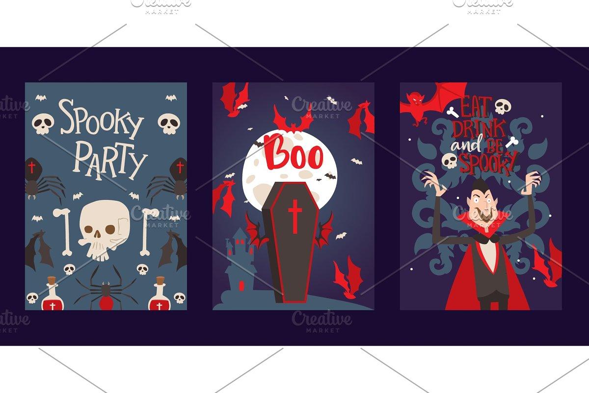 Vampire Style Halloween Party