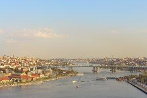 Golden Horn of Istanbul.