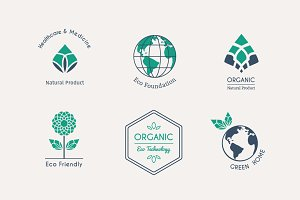 6 Ecological Logo Templates