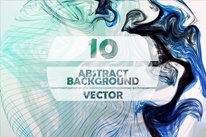 Abstract mystic vector background