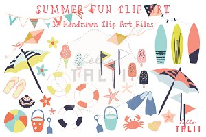 Summer Fun (Clip Art)