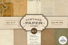 Vintage Paper Textures - No. 9