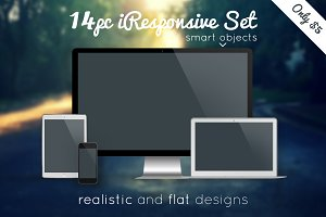 14pc New iResponsive Set