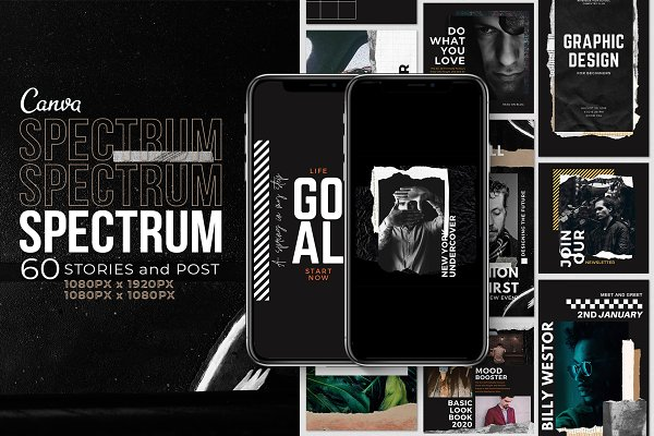 Spectrum Stories and Post | Canva