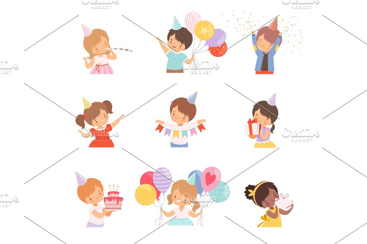 Little Children Celebrating