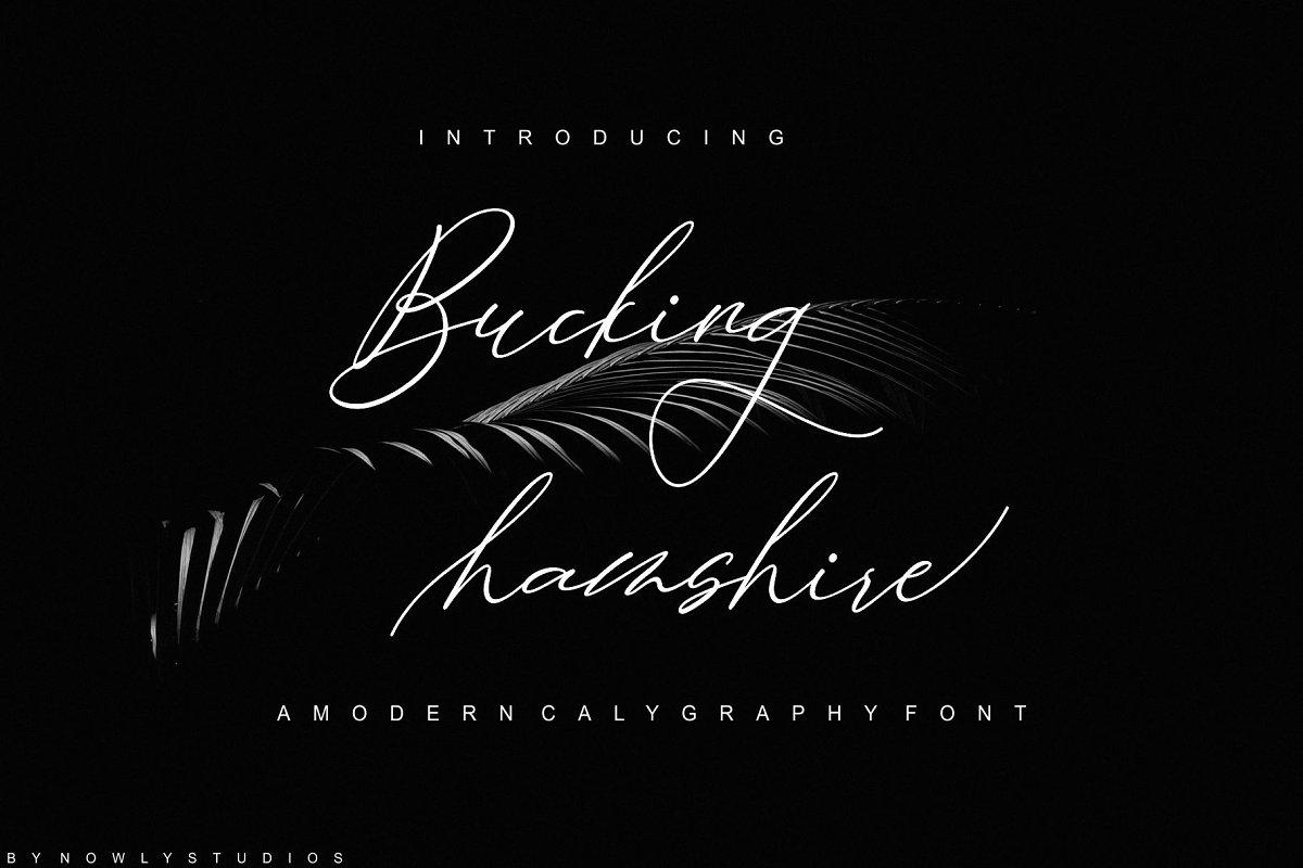 Bucking Hamshire Script