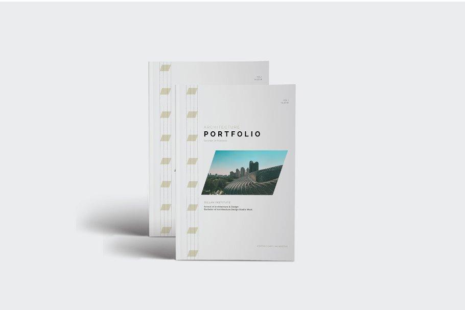 Architecture Portfolio/Brochure
