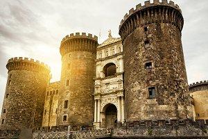 The Castel Nuovo, Naples