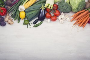 Vegetables hero header