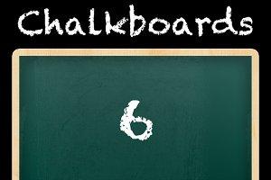 6 Chalkboard Styles