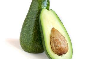Fresh avocado cut