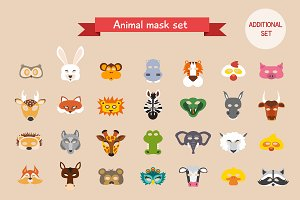 Animal mask set (2)