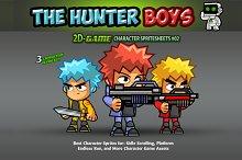 Hunter Boys- Character Sprites 02