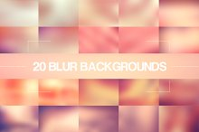 20 Pink Blur Backgrounds