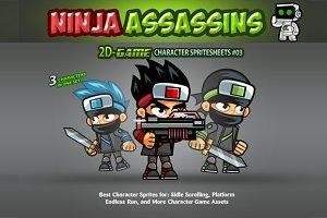 Ninjas Character Sprites 03