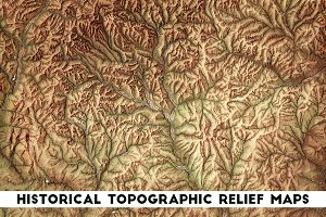 Historical Topographic Relief Maps