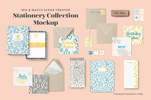 Stationery Collection Mockup 2