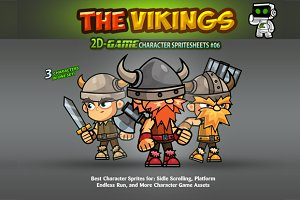 Viking Character Sprites 06