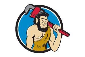 Neanderthal CaveMan Plumber Monkey W