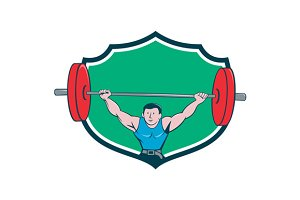 Weightlifter Deadlift Lifting Weight