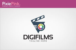Digi Films Logo Template