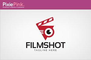 Film Shot Logo Template