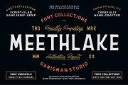 Meethlake Typeface || Vintage Font