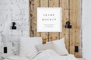 Boho Chic Frame Mockup | A Series