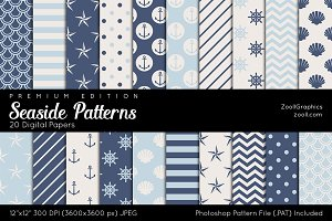 Seaside Digital Papers
